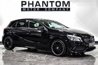 USED 2018 18 MERCEDES-BENZ A-CLASS 1.6 A 200 AMG LINE 5d 154 BHP