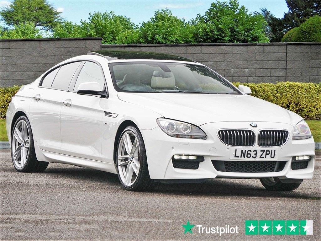 USED 2013 63 BMW 6 SERIES 640D M SPORT GRAN COUPE [313] Pan Rf Alcantara Huge Specification