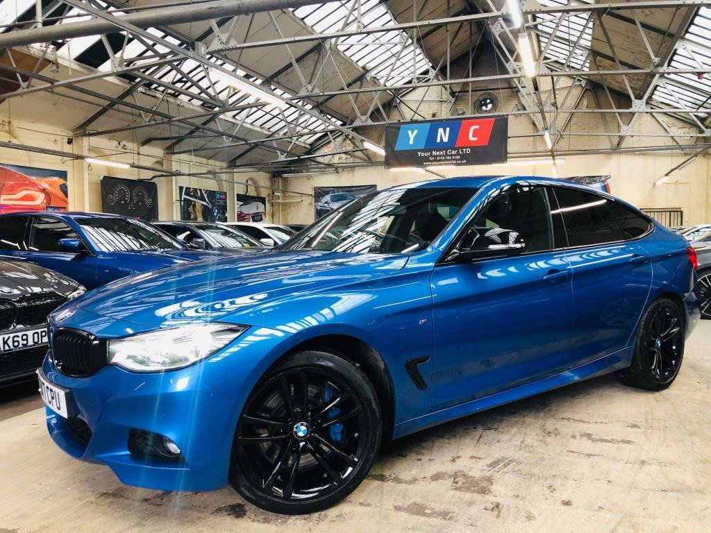 USED 2017 17 BMW 3 SERIES 3.0 335d M Sport Gran Turismo Auto xDrive (s/s) 5dr BLACK PACK 19S ADAPTIVE HED
