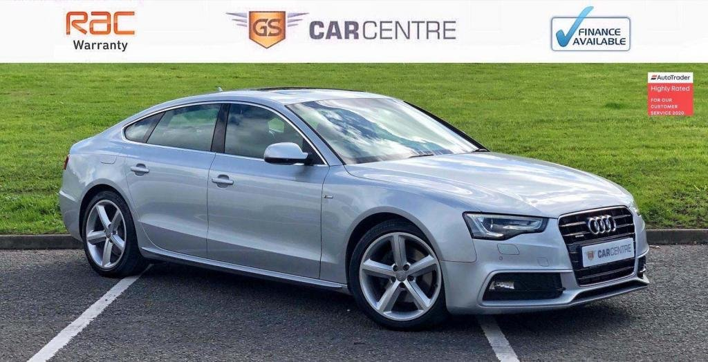USED 2012 61 AUDI A5 3.0 TDI S line Sportback S Tronic quattro 5dr £4,670 Extras+ Glass Roof+ DAB