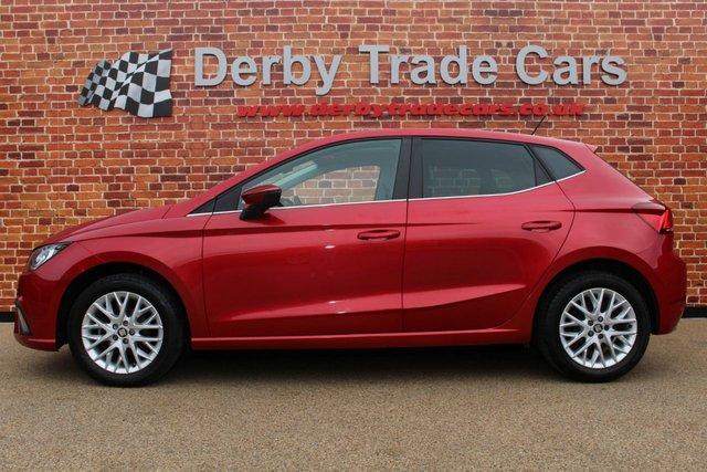SEAT IBIZA at Derby Trade Cars