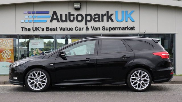 USED 2017 17 FORD FOCUS 1.0 ST-LINE 5d 124 BHP LOW DEPOSIT OR NO DEPOSIT FINANCE AVAILABLE . COMES USABILITY INSPECTED WITH 30 DAYS USABILITY WARRANTY + LOW COST 12 MONTHS ESSENTIALS WARRANTY AVAILABLE FOR ONLY £199 .  WE'RE ALWAYS DRIVING DOWN PRICES .