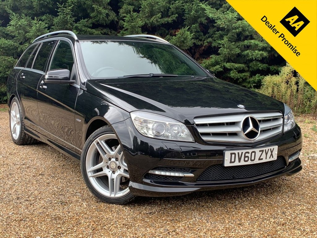 USED 2011 60 MERCEDES-BENZ C-CLASS 2.1 C220 CDI BLUEEFFICIENCY SPORT 5d 170 BHP