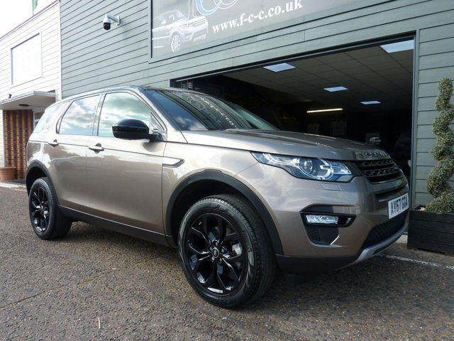 2017 67 LAND ROVER DISCOVERY SPORT 2.0 TD4 HSE 5d 180 BHP AUTO