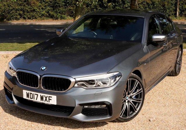 2017 17 BMW 5 SERIES 3.0 530D XDRIVE M SPORT 4d 261 BHP AUTOMATIC