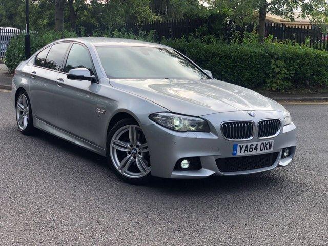 2015 64 BMW 5 SERIES 2.0 520D M SPORT 4d 188 BHP