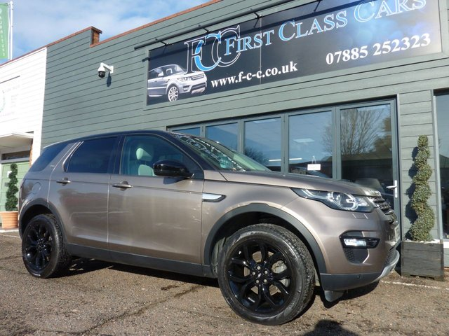 2016 66 LAND ROVER DISCOVERY SPORT 2.0 TD4 HSE 5d 180 BHP AUTO