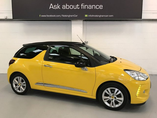 USED 2013 62 CITROEN DS3 1.6 DSTYLE 3d 120 BHP