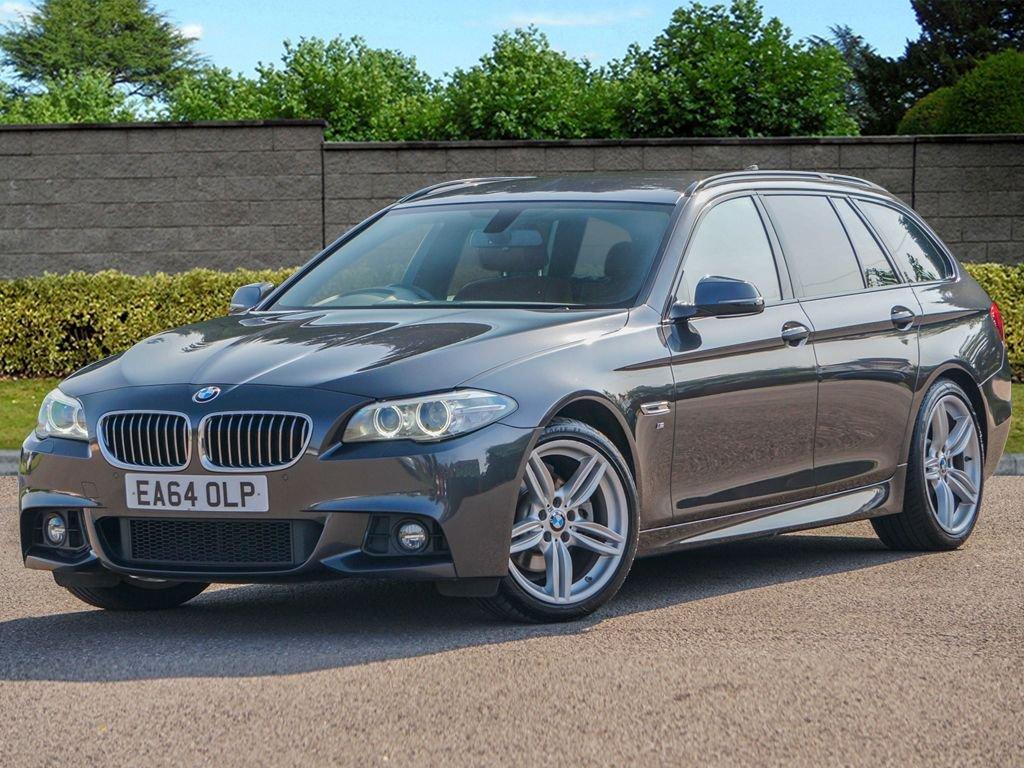 USED 2014 64 BMW 5 SERIES 2.0 520D M SPORT TOURING 5d [190] Auto FBMWSH