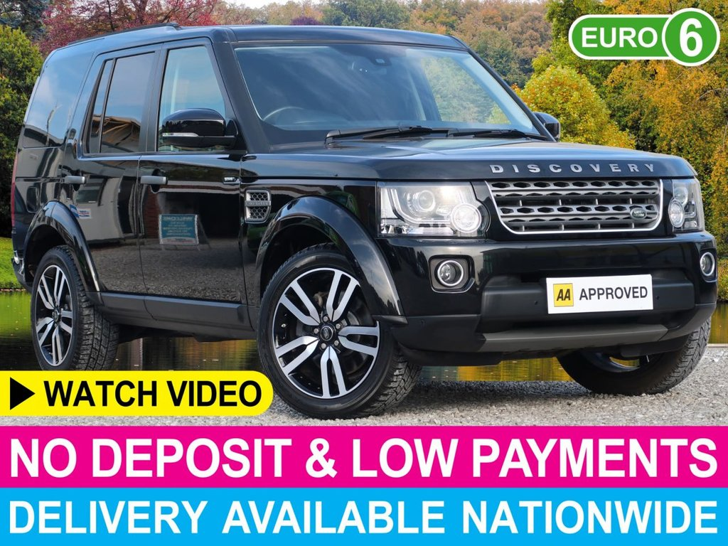 "USED 2016 16 LAND ROVER DISCOVERY 3.0 SDV6 SE Auto Commercial Van 20"" Alloys Sat Nav Reverse Cam"