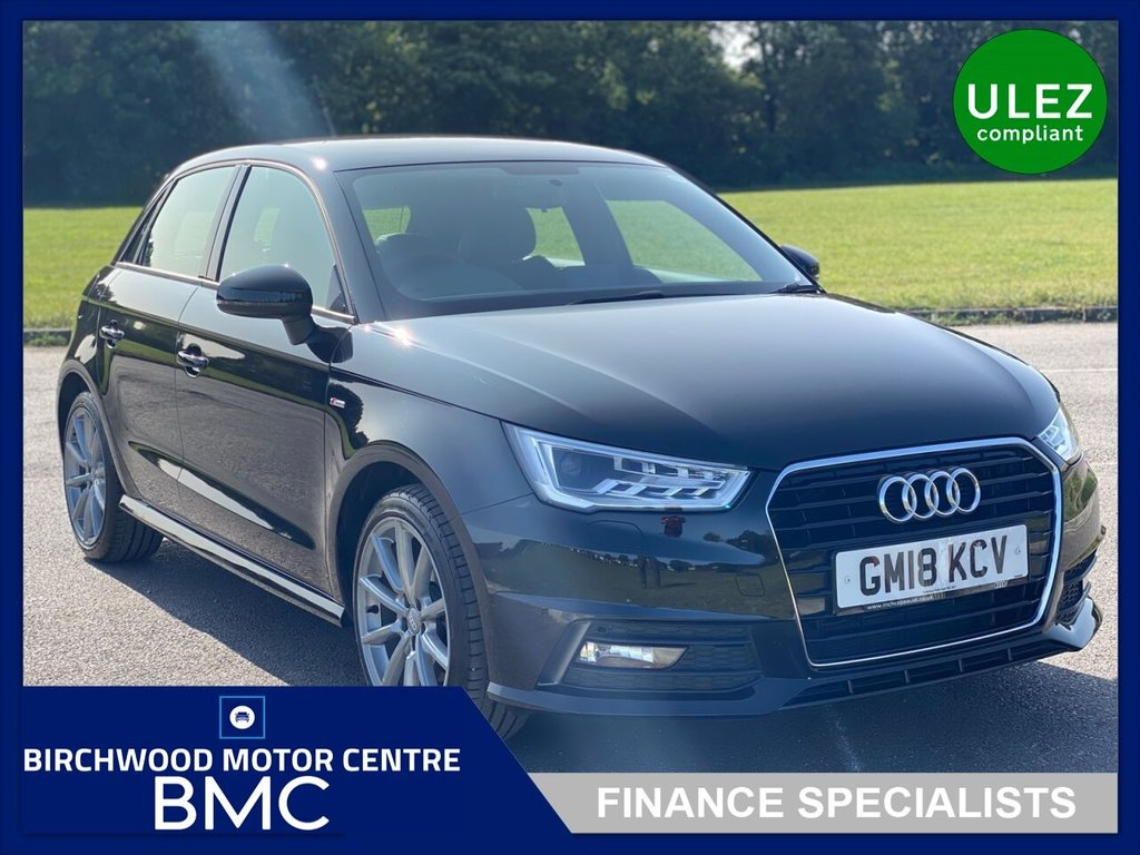 USED 2018 18 AUDI A1 1.4 SPORTBACK TFSI S LINE NAV 5d 123 BHP. Ulez Compliant, 1 OWNER JUST 8,000miles FSH, SAT NAV, GREAT SPEC, IMMACULATE THROUGHOUT