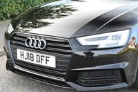 USED 2018 18 AUDI A4 2.0 TDI Black Edition Avant S Tronic (s/s) 5dr