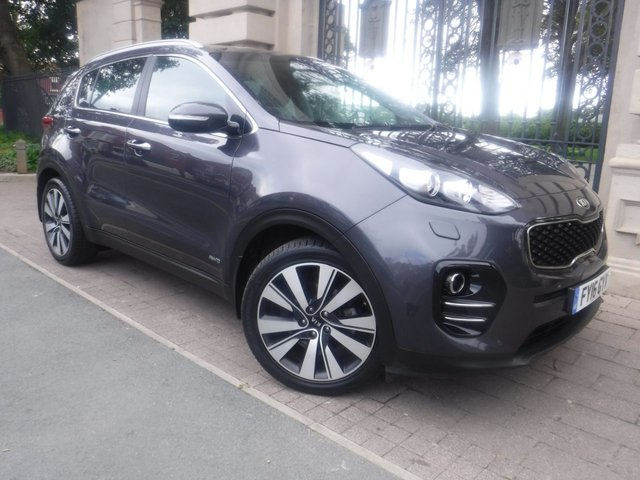 USED 2016 16 KIA SPORTAGE 2.0 CRDI KX-4 5d 182 BHP FINANCE ARRANGED**PART EXCHANGE WELCOME**SAT NAV**PANORAMIC ROOF**FULL LEATHER**4WD