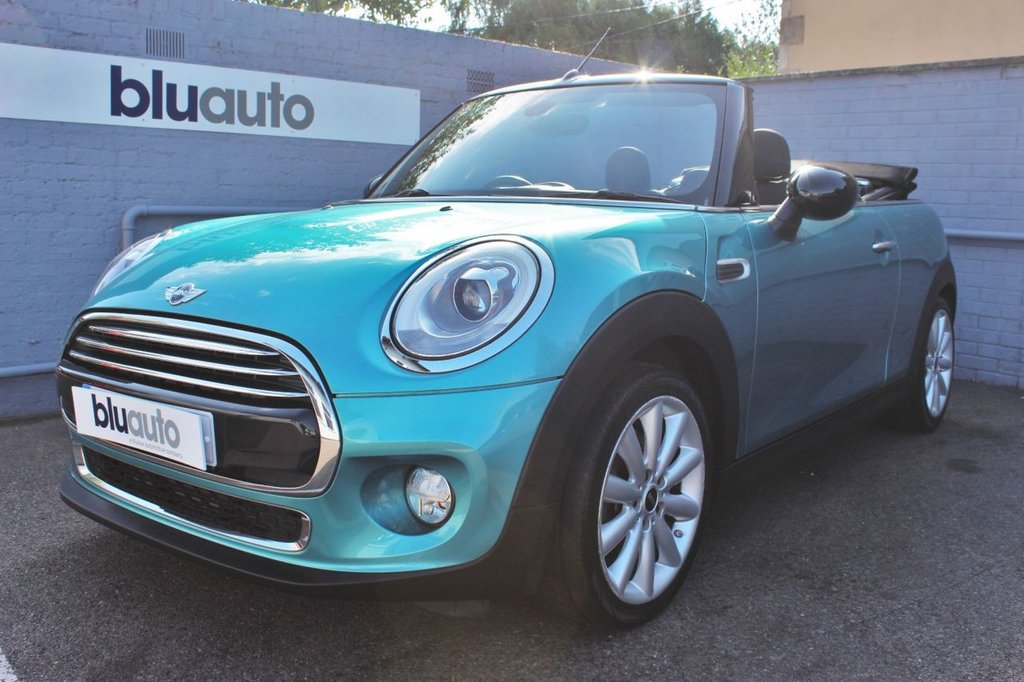 USED 2016 16 MINI CONVERTIBLE 1.5 COOPER 2d 134 BHP Low Low Mileage, Beautiful Condition, Great Specification.....