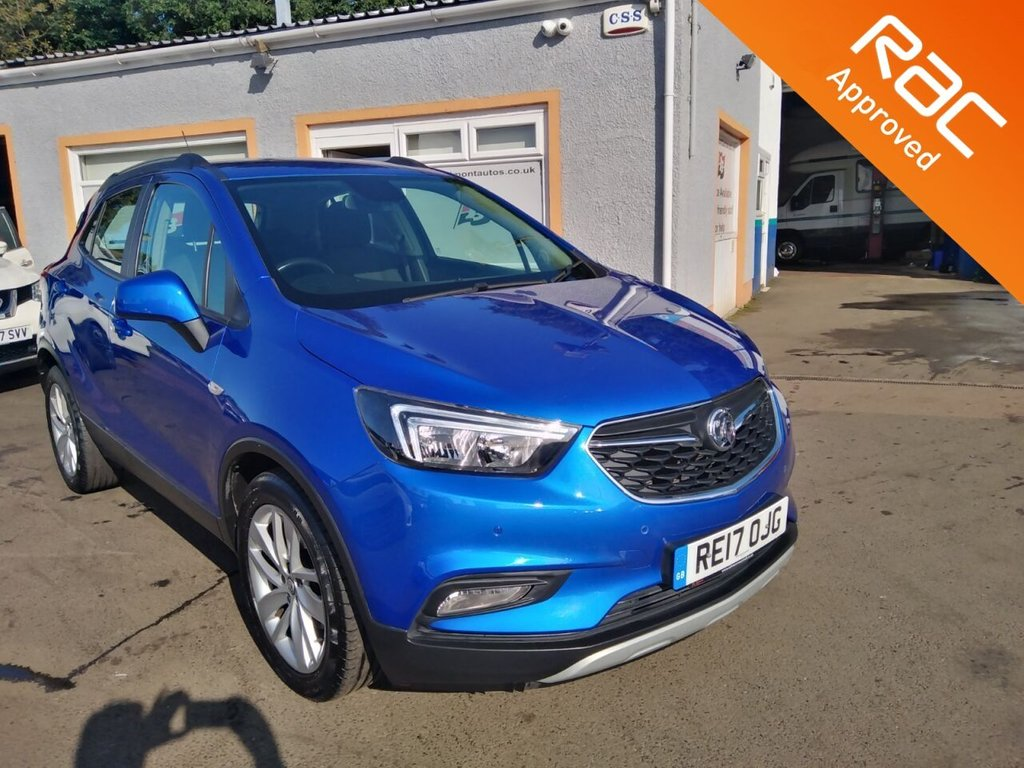 USED 2017 17 VAUXHALL MOKKA X 1.4 ACTIVE 5d 138 BHP Bluetooth, Parking Sensors, Bluetooth Phone Projection, Cruise Control
