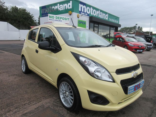 USED 2014 63 CHEVROLET SPARK 0.9 LS 5d 67 BHP