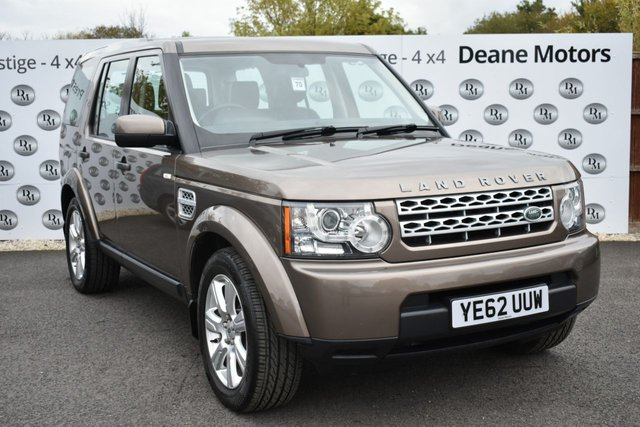 2012 62 LAND ROVER DISCOVERY 3.0 4 SDV6 GS 5d 255 BHP
