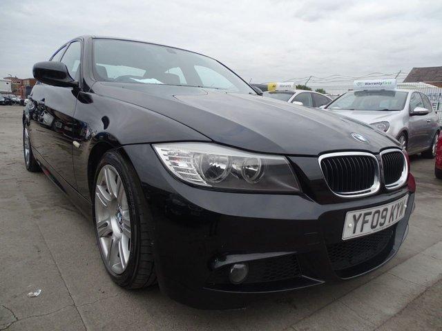 USED 2009 09 BMW 3 SERIES 2.0 318D M SPORT 4d 141 BHP CHEAP TAX