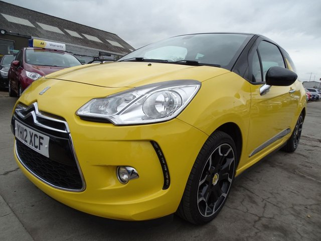 USED 2012 12 CITROEN DS3 1.6 E-HDI DSTYLE PLUS 3d 90 BHP