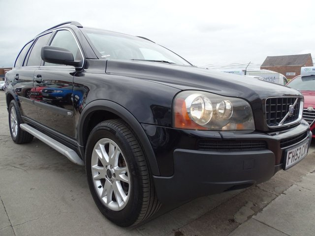 USED 2004 53 VOLVO XC90 2.4 D5 S 5d 161 BHP 7 SEATER DRIVES WELL