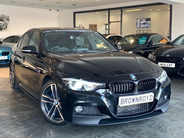 USED 2018 18 BMW 3 SERIES 2.0 320D M SPORT SHADOW EDITION 4d 188 BHP BM PERFORMANCE STYLING+6.9%APR