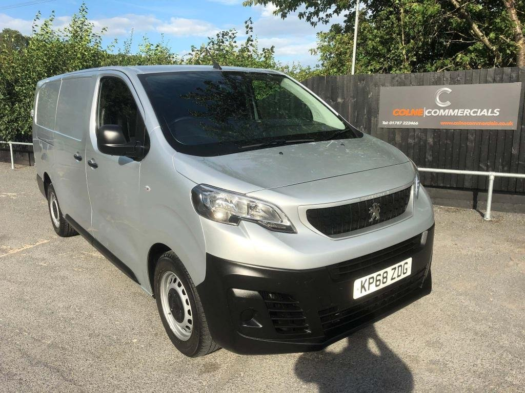 USED 2018 68 PEUGEOT EXPERT 2.0 BlueHDi 1400 Professional Long Panel Van LWB EU6 (s/s) 6dr **PEUGEOT WARRANTY**AIR-CON**