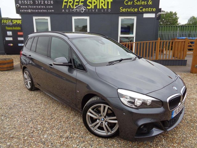 USED 2016 65 BMW 2 SERIES 2.0 220i M Sport Gran Tourer Auto (s/s) 5dr Nav, Heads Up Display, Leather