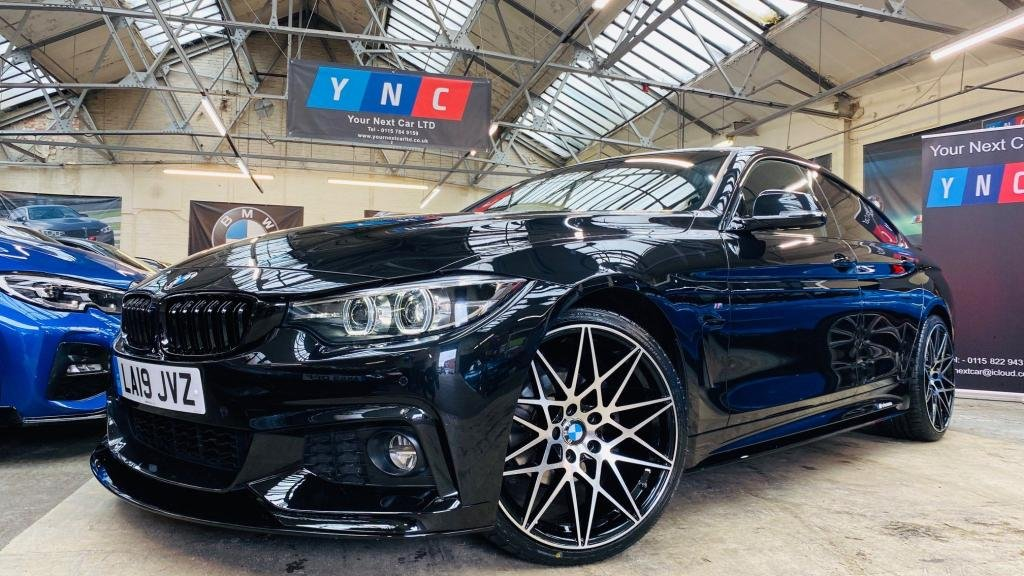USED 2019 19 BMW 4 SERIES 2.0 420i GPF M Sport Gran Coupe Auto (s/s) 5dr PERFORMANCEKIT+FACELIFT+FDSH