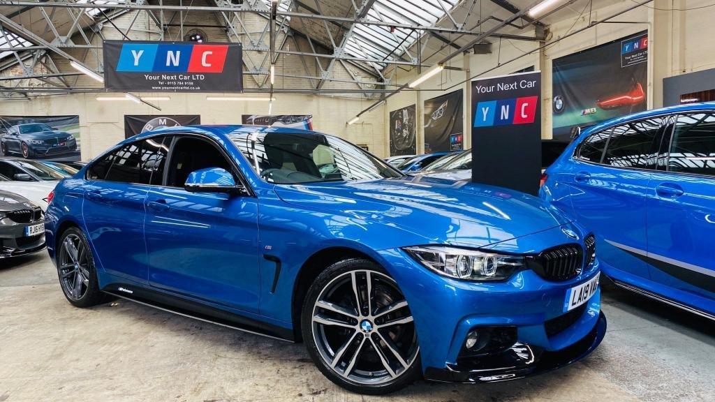 USED 2019 19 BMW 4 SERIES 2.0 420i GPF M Sport Gran Coupe Auto (s/s) 5dr PERFORMANCEKIT+FACELIFT+ALEXA!