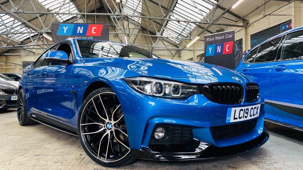 USED 2019 19 BMW 4 SERIES 2.0 420i GPF M Sport Gran Coupe Auto (s/s) 5dr PERFORMANCEKIT+FACELIFT+20S