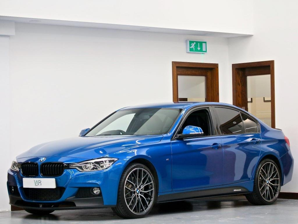 USED 2018 18 BMW 3 SERIES 3.0 335d M Sport Auto xDrive (s/s) 4dr M PERFORMANCE KIT + 20' ALLOYS
