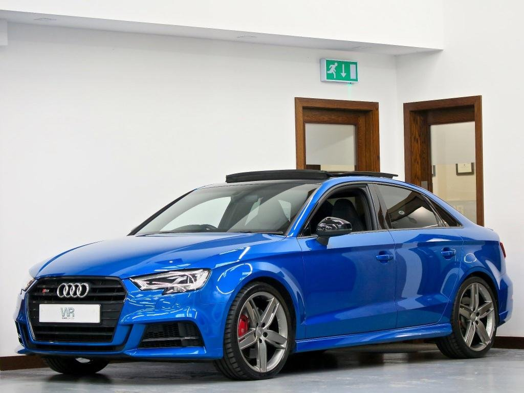 USED 2017 67 AUDI S3 2.0 TFSI Black Edition S Tronic quattro (s/s) 4dr PAN ROOF + REV CAM + SS SEATS