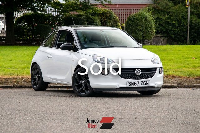 USED 2018 67 VAUXHALL ADAM 1.2 ENERGISED 3d 69 BHP One Owner   2 Vauxhall Service Stamps