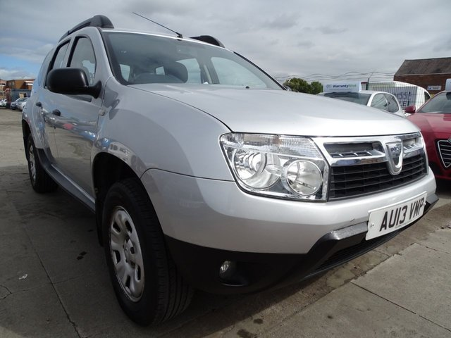 USED 2013 13 DACIA DUSTER 1.5 AMBIANCE DCI 5d 107 BHP LOW TAX BRACKET