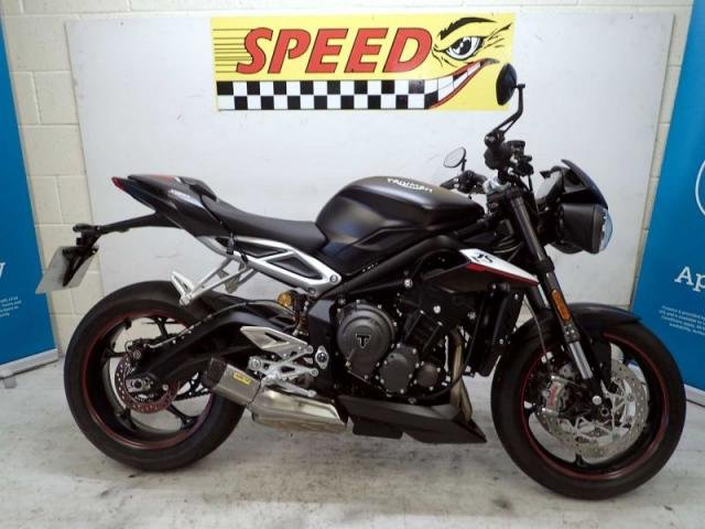 USED 2020 20 TRIUMPH STREET TRIPLE RS