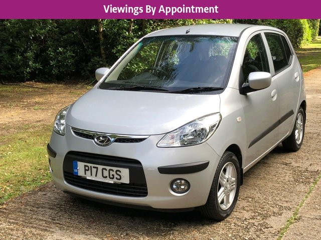 USED 2010 P HYUNDAI I10 1.2 COMFORT 5d 77 BHP AUTOMATIC VERY LOW MILEAGE, AIR CON, FINANCE ME TODAY-UK DELIVERY POSSIBLE