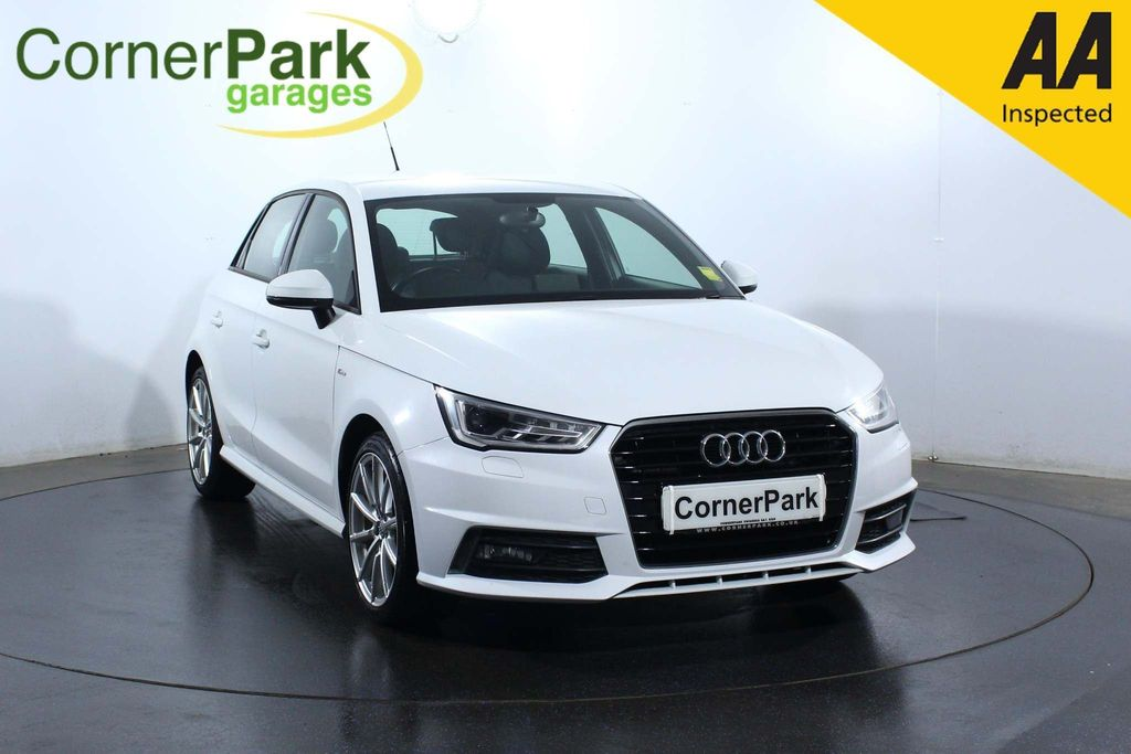 USED 2017 17 AUDI A1 1.4 TFSI S line Sportback (s/s) 5dr HEATED MIRRORS - REAR SENSORS