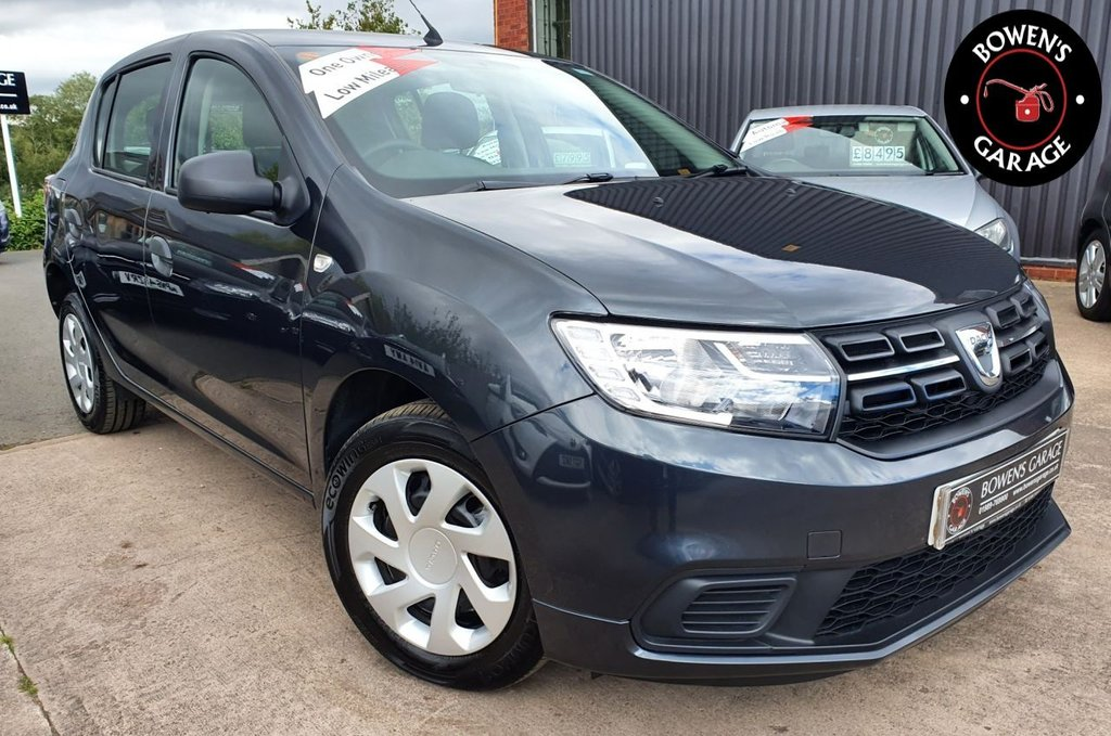USED 2017 17 DACIA SANDERO 1.0 AMBIANCE SCE 5D 73 BHP 1 Owner - Just 6549 Miles - 3 Services - Air Con