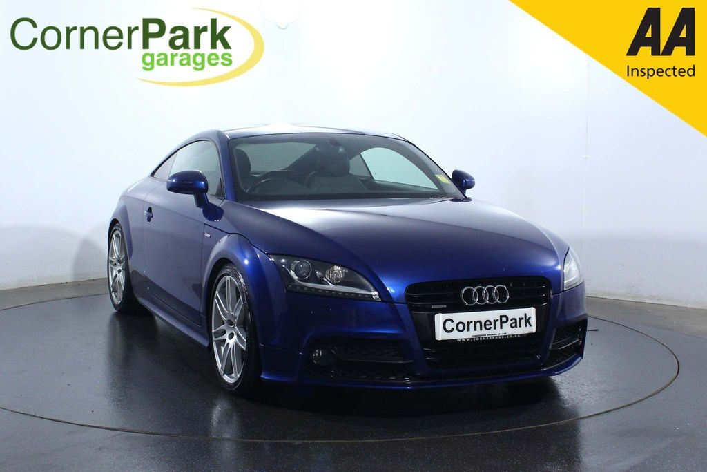 USED 2012 62 AUDI TT 2.0 TD Black Edition S Tronic 2dr CRUISE CONTROL - LEATHER SEATS