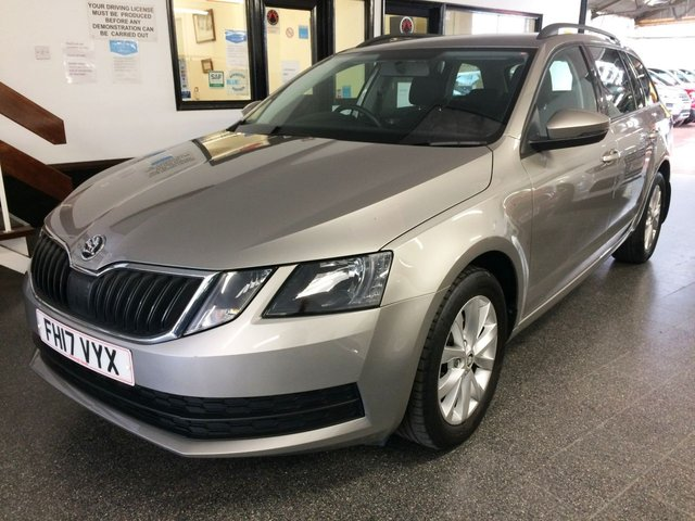 USED 2017 17 SKODA OCTAVIA 1.0 S TSI 5d 114 BHP This 1.0TSi Petrol Powered New Shape Octavia Estate is finished in Cappuccino with Black cloth seats. It is fitted with power steering, remote locking, electric windows and mirrors, Air Conditioning, Bluetooth, Alloy wheels, DAB CD Stereo with Aux & USB ports and more. It has had one owner from new and comes with a full Skoda service history in the form of a digital printout and accompanying invoices. We will supply it with 12 Months MOT, a service and 6 months RAC insured warranty.