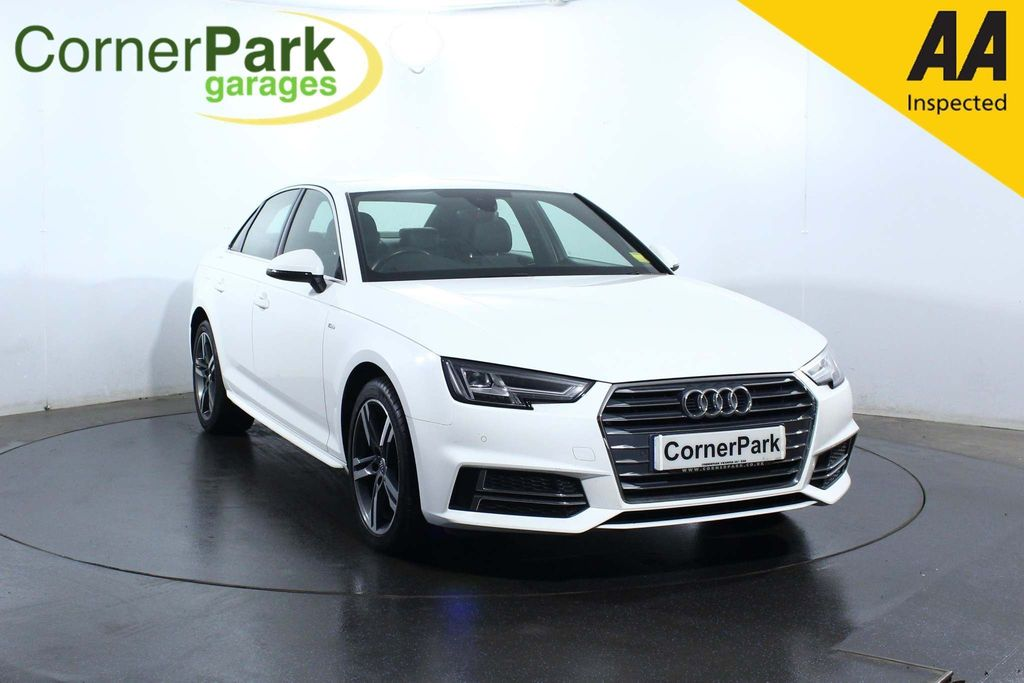 USED 2017 17 AUDI A4 2.0 TFSI S line (s/s) 4dr