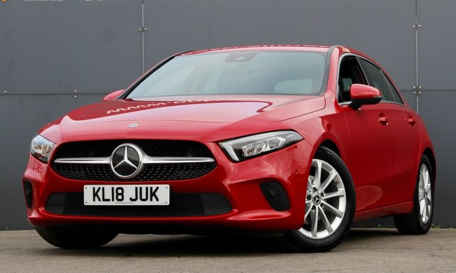 2018 18 MERCEDES-BENZ A-CLASS 1.5 A 180 D SPORT EXECUTIVE 5d 114 BHP [ NEW SHAPE ]