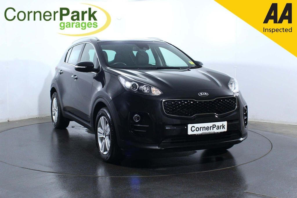 USED 2017 67 KIA SPORTAGE 2.0 CRDi KX-2 AWD 5dr CRUISE CONTROL - REAR CAMERA
