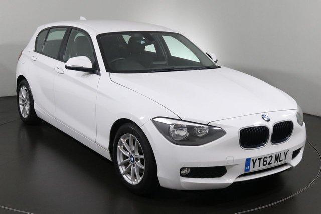 2012 62 BMW 1 SERIES 1.6 116D EFFICIENTDYNAMICS 5d 114 BHP