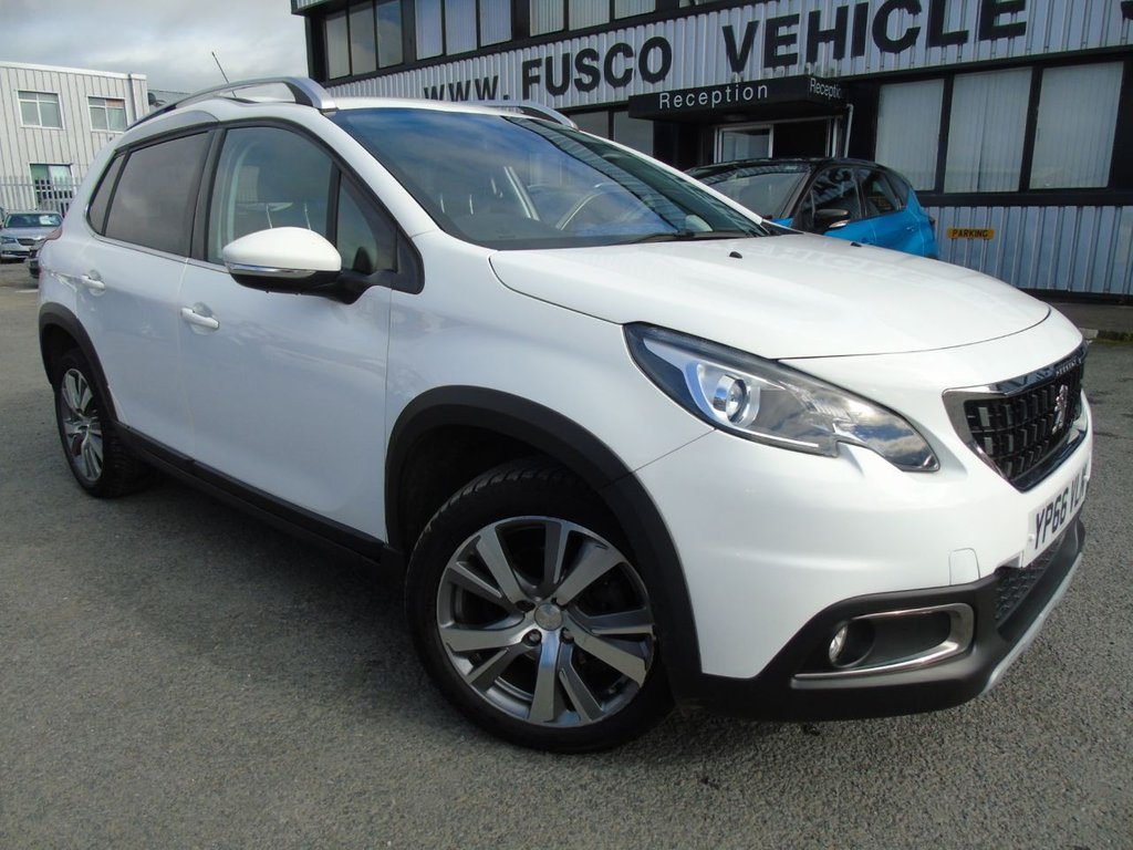 USED 2017 66 PEUGEOT 2008 1.2 PURETECH S/S ALLURE 5d 110 BHP £236 a month, T&Cs apply.