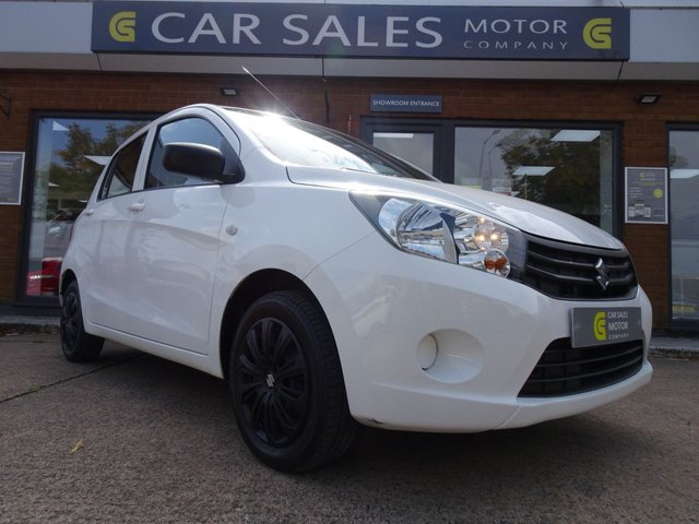 USED 2016 16 SUZUKI CELERIO 1.0 SZ2 5d 67 BHP ZERO ROAD TAX, FORMER LADY KEEPER, VERY ECONOMICAL TO RUN, JULY 2021 MOT, JUST HAD A FULL SERVICE, 5 STAR RATED DEALERSHIP