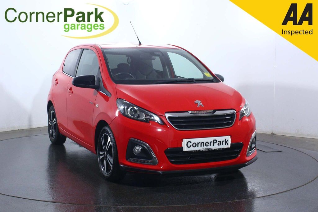 USED 2017 66 PEUGEOT 108 1.2 PureTech GT Line 5dr CRUISE CONTROL - REAR CAMERA