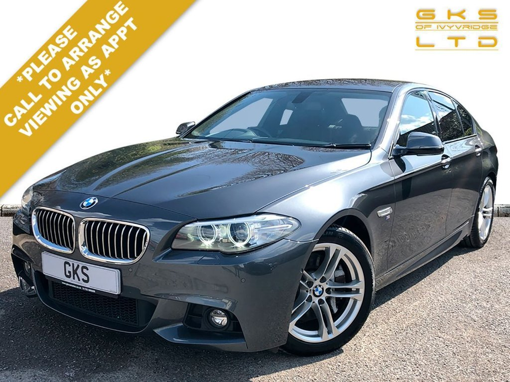 USED 2016 65 BMW 5 SERIES 3.0 530D M SPORT 4d 255 BHP ** NATIONWIDE DELIVERY AVAILABLE **