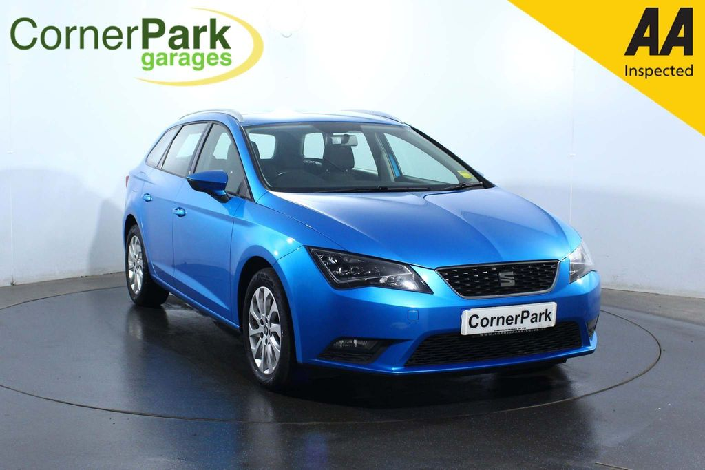 USED 2016 66 SEAT LEON 1.6 TDI SE (Tech Pack) ST (s/s) 5dr AIR CON - HEATED MIRRORS