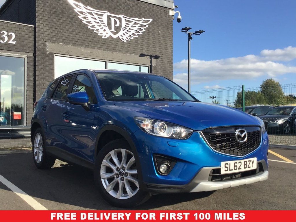 USED 2012 62 MAZDA CX-5 2.0 SPORT NAV 5d 163 BHP New arrival reserve now